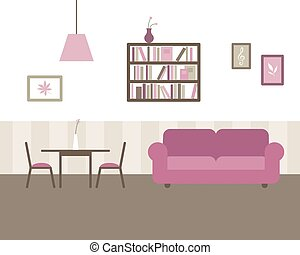 Vector Living and Dining Room
