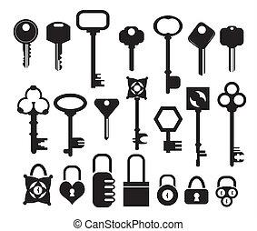 vector, llave