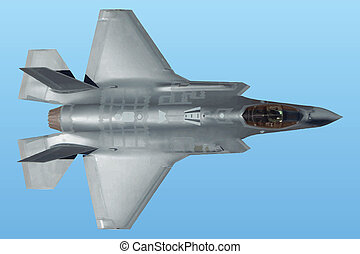 Vector Lockheed MaF-35 Lightning II. The jet and the...