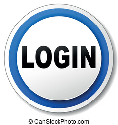 Vector login icon