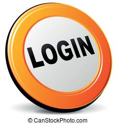 Vector login icon