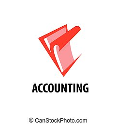 vector logo accounting