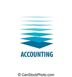 vector logo accounting - template design logo accounting....