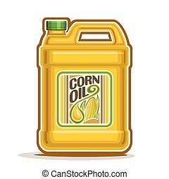 Bottle with Corn Oil