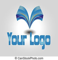Vector logo design template for company names etc