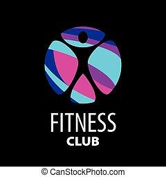 vector logo fitness