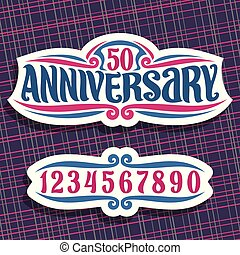 Vector logo for Anniversary