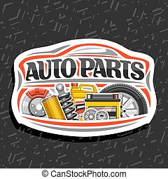 Vector logo for Auto Parts store