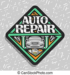 Vector logo for Auto Repair