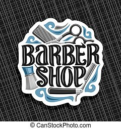 Vector logo for Barber Shop