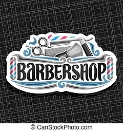Vector logo for Barbershop