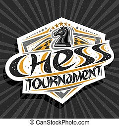 Vector logo for Chess Tournament