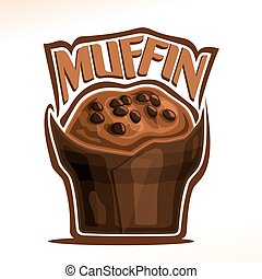 Vector logo for Chocolate Muffin