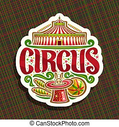 Vector logo for Circus