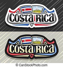 Vector logo for Costa Rica