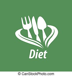 vector logo for diet