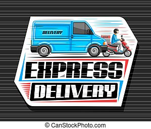 Vector logo for Express Delivery