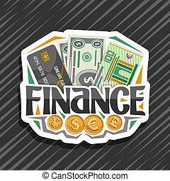 Vector logo for Finance