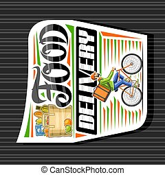 Vector logo for Food Delivery