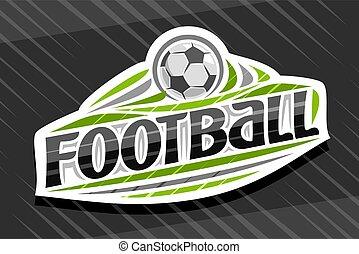 Vector logo for Football Sport