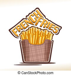 Vector logo for French Fries