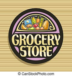 Vector logo for Grocery Store