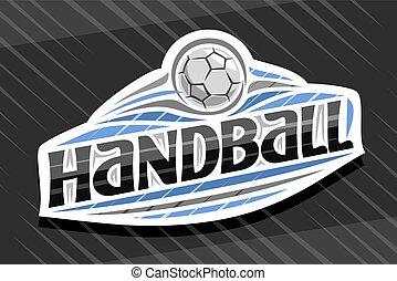 Vector logo for Handball Sport