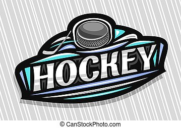 Vector logo for Ice Hockey