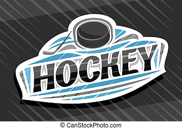 Vector logo for Ice Hockey Sport