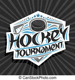Vector logo for Ice Hockey Tournament