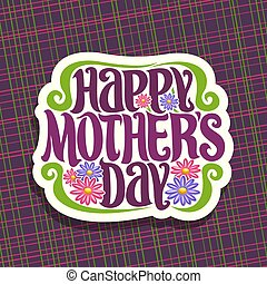 Vector logo for Mothers Day