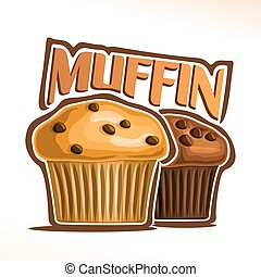 Vector logo for Muffin