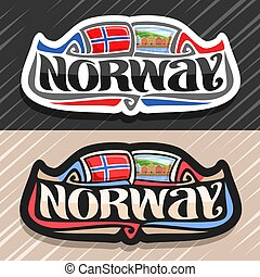 Vector logo for Norway