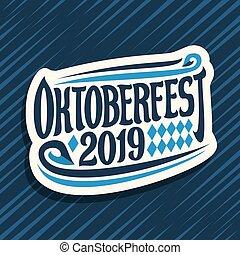 Vector logo for Oktoberfest