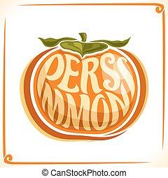 Vector logo for Persimmon