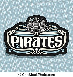 Vector logo for Pirates theme
