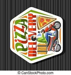 Vector logo for Pizza Delivery