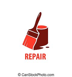 vector logo for repair