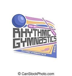 Vector logo for Rhythmic Gymnastics