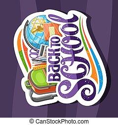 Vector logo for School