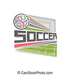 Vector logo for Soccer game