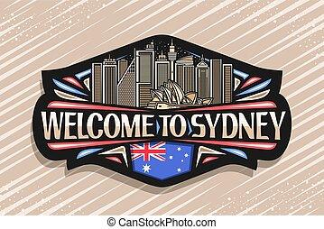 Vector logo for Sydney