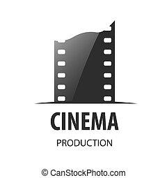 vector logo for videotape film production