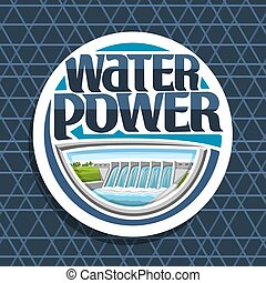 Vector logo for Water Power