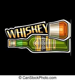 Vector logo for Whiskey