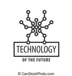 vector logo graphic Spider chip