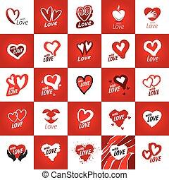 vector logo heart