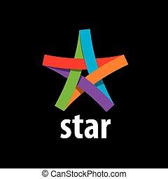 vector logo star - Abstract star sign Branding Identity...