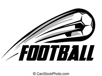 person with a soccer ball logo person with a soccer ball icon vector