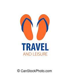 Vector logo travel